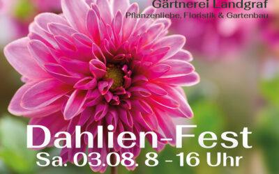 Einladung zum Dahlien-Fest
