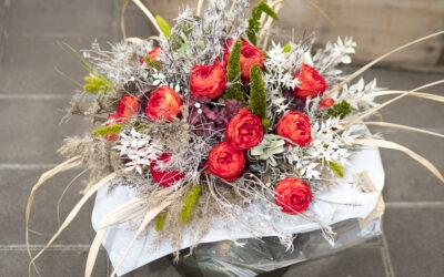 Präparierte Blüten, exklusive Trocken-Floristik, neu gedacht