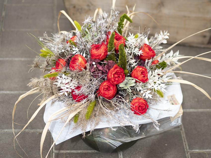 Konservierte Blumen, exklusive Floristik, neu gedacht